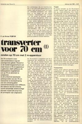 transverter voor 70 cm (1) - zenden op 70 cm met 2 m