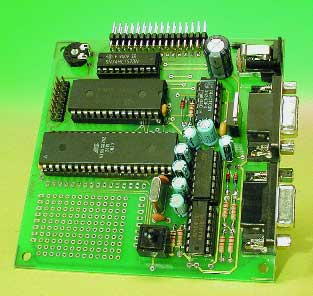 89S8252 flash-board