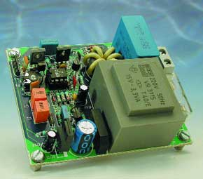 Mains remote transmitter