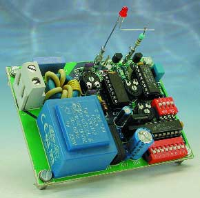Mains remote control: decoder