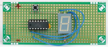 Zuinig 7-segment-display