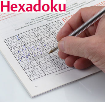Hexadoku september 2012