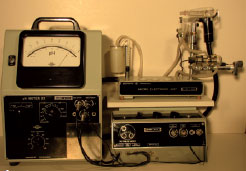 Retro-tronica: Radiometer PHM22/PH928a pH/O2/CO2 analyse-systeem