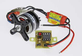 Motor-adapter voor RC-modellen