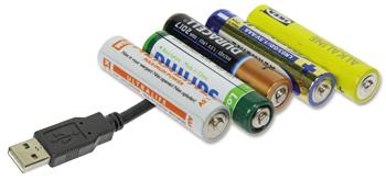 Batterij-vervanger met USB