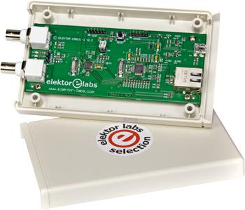 Signaalanalyzer met netwerkaansluiting (1)