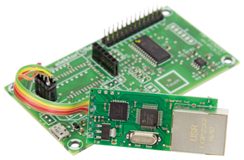 Ethernet op het Android I/O-board