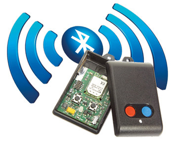 Bluetooth Low Energy afstands-bediening