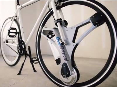 GeoOrbital Wheel – Maak je fiets elektrisch in 60 seconden