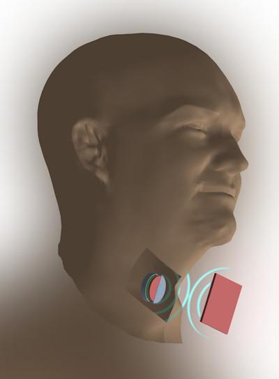 Implantaten voeden met ultrasoon geluid
