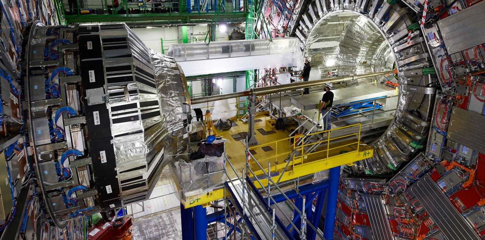 Het CMS-experiment (foto: CERN).