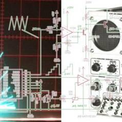 Bouw de Neptronix 570 en plot karakteristieken van componenten