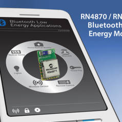 Bluetooth 4.2-modules van Microchip