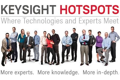 HOTSPOTS-seminars van Keysight
