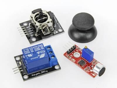 Sensor-kit met 37 sensoren voor Arduino
