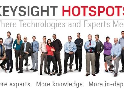 HOTSPOTS-seminars van Keysight
