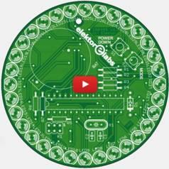 Eenvoudig te bouwen programmeerbare LED-cirkel