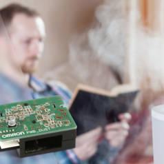 Stofsensor in de strijd tegen luchtvervuiling