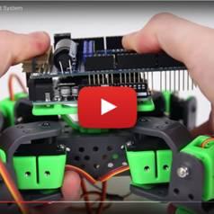 AllBot: vierpotige Arduino-bestuurde robot