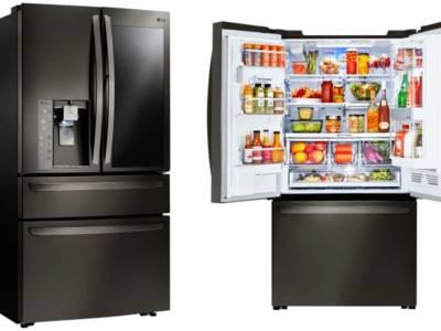 LG's slimme koelkast 'Instaview' op CES 2017