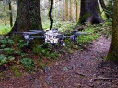 Kunstmatige intelligentie geeft drones helicopterview