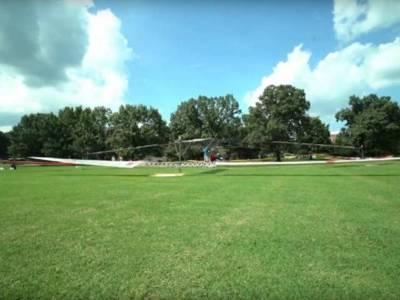 Bemande helikopter op zonne-energie bereikt hoogte van 30 cm