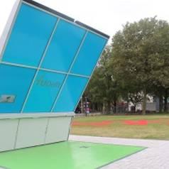 Eerste draadloze laadstation op zonne-energie voor elektrische fiets