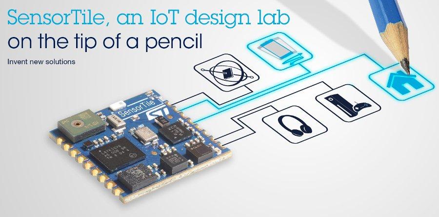 Biometrische-sensor-devkit voor wearables en IoT