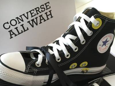 Te gek! Converse sneakers met ingebouwd wah-wah pedaal