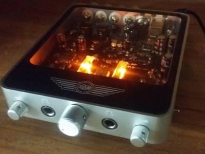 Kickstarter-project: 2 x 50 Watt Desktop Valve Amplifier