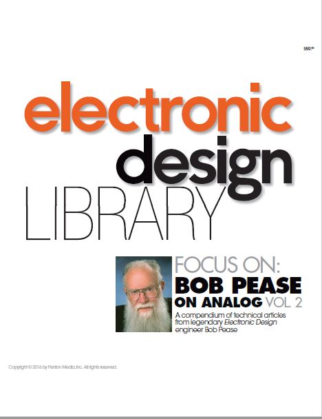 Gratis download: Pease on Analog Volume 2. Afbeelding: Electronics Design