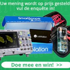 Doe mee aan de enquête en win lab-apparatuur!