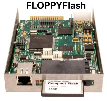 Floppy-drive-emulator voor oude computers