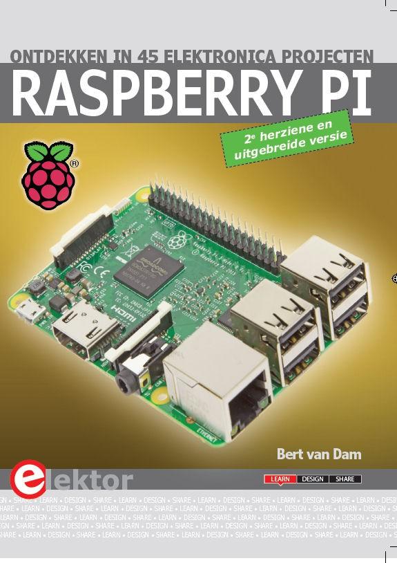 Herziene versie van bestseller-boek 'Raspberry Pi ontdekken'
