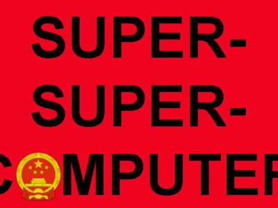 China plant de super-super-computer