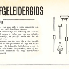 Elektuur Halfgeleidergids 1964