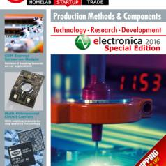 Gratis download: Elektor Business Magazine – beurseditie electronica 2016
