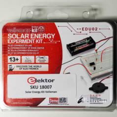 Solar Energy Experiment Kit van Velleman